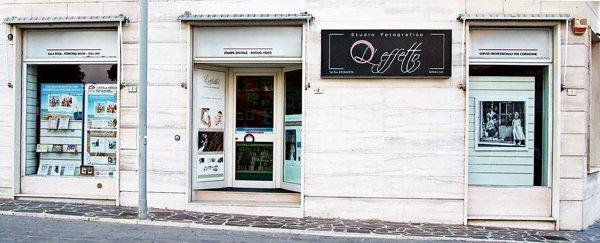 foto esterna dello studio fotografico L' Effetto di Chiaravalle, Ancona
