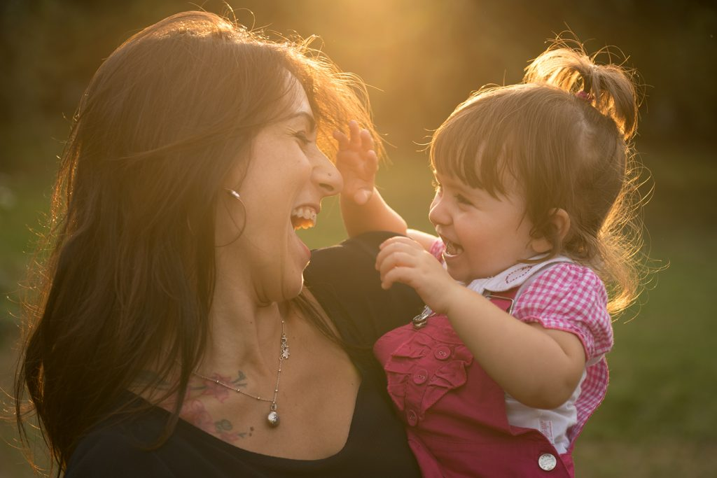 Mamma e figlia - Ritratto di coppia